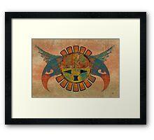 Eagle Sun Framed Print