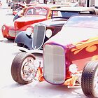 hot rods  by Roger  Maldonado