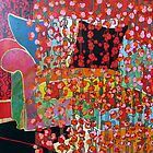 POPPIES ALL OVER THE HOUSE by Linda Arthurs