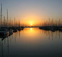 Sunrise Bayside Brisbane by Helen Phillips
