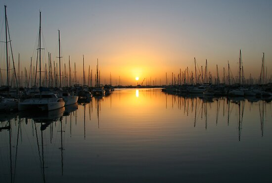 Sunrise Bayside Brisbane by Helen Phillips