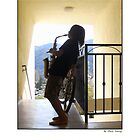 La Crescenta Jazz Busker by MarkYoung