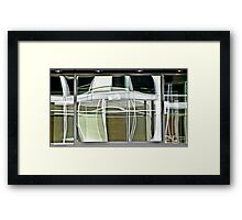 abstracts in glass 2 Framed Print