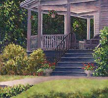 Victorian Porch by Susan Savad