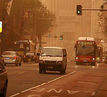 Sydney Dust Storm 24 September, 2009 by VenturAShot