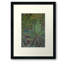 Jamaica Banana Trees Framed Print
