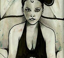 Christina R  ( Psycho Mouseketeer ) by John Dicandia  ( JinnDoW )