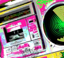 RETRO boom BOX Sticker