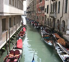 Canals of Venice by Kymbo