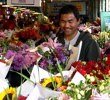 Flower Vendors of Pike Place Market_1 by Hope Ledebur