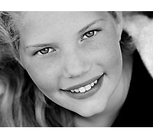 Perrin's Smile Photographic Print