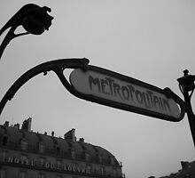 Metro station Louvre by donnielime