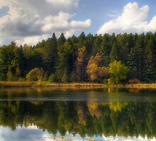 Reflections of Early Autumn by Jigsawman