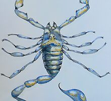 Scorpion Scorpio Arachnid Blue, 2006 by Pete Janes