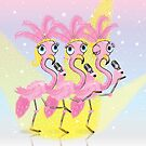Flamingo Chorus by flamingrhino