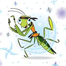 Praying mantis by flamingrhino
