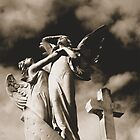 Calling All Angels Sepia by crystaldreams