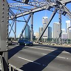 brisbane city throught the story bridge by aussieazsx