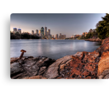 Kangaroo Point • Brisbane Canvas Print