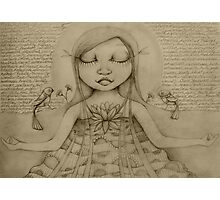 Affirmation Drawing Photographic Print