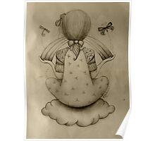 Cloud Nine drawing Poster
