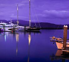 Morning Twilight at the Marina by Tim Wootton
