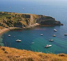 Lulworth Cove by RedHillDigital