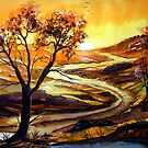 Golden Glow - Landscape by © Linda Callaghan