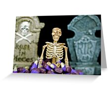 Rest In Pieces Greeting Card