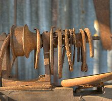 The Vintage Lathe, Howard, Queensland, Australia  by Adrian Paul