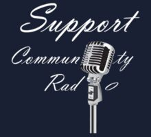 Support Community Radio (ένα) by Lee Eyre