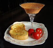 Tomato Bisque Gazpacho by Marija