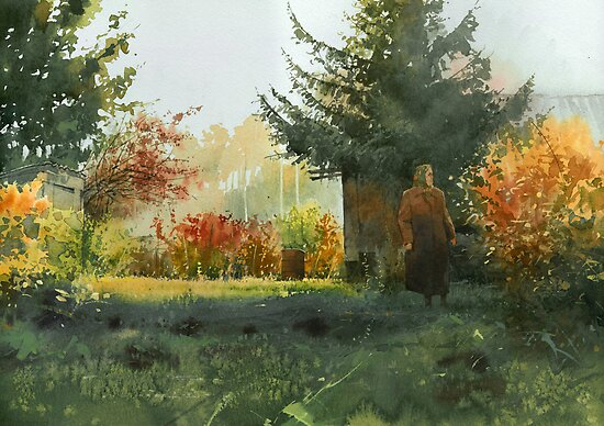 Grandma's domain by Sergei Kurbatov