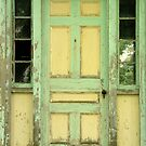 Door, South Thomaston, Maine by fauselr