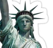 Statue of Liberty, New York, USA Sticker