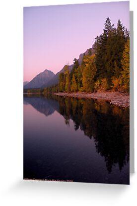Lake MacDonald - Glacier National Park by rocamiadesign