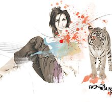 Fashion against fur - tiger by artchetype