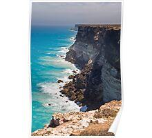Great Australian Bight - Cliffs on the Nullabor - South Australia Poster