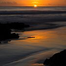 Rarawa beach sunrise 4 by Paul Mercer