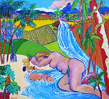 Garden Of Eden Queensland Style by Virginia McGowan