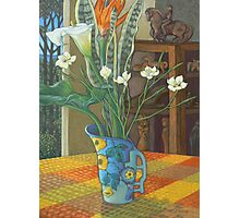 still life and the sculpture cupboard Photographic Print