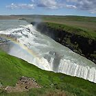 Gullfoss by Peter Zentjens
