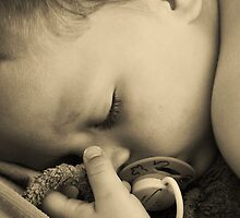 SLEEPING BABY (PEACE) by Scott  d'Almeida