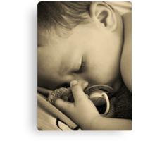 SLEEPING BABY (PEACE) Canvas Print