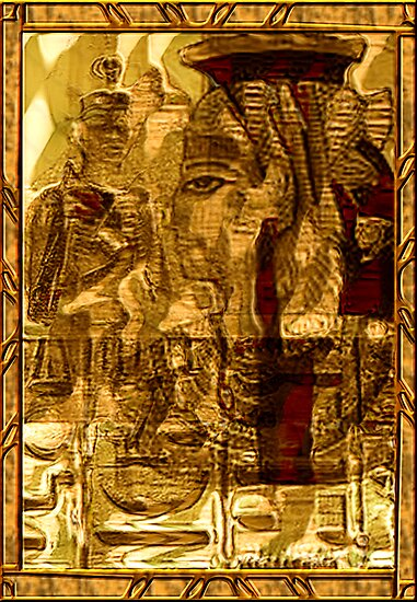 Egyptian series -golden gate to gods   by Marilyns
