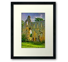 Jervaulx Abbey Ruins Framed Print