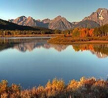 A Teton Morning by Gary Lengyel