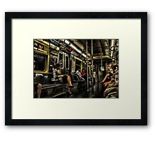 Readers & Watchers Framed Print