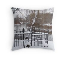 Serene Resting Place Throw Pillow