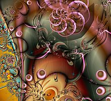 FRACTAL WORKS 4 by Günter Maria  Knauth
